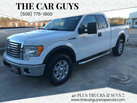 2012 Ford F-150 for sale at The Car Guys in Hyannis MA