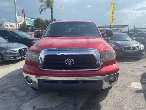 2008 Toyota Tundra for sale at America Auto Wholesale Inc in Miami FL