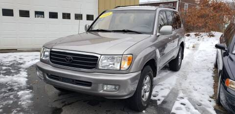 2001 Toyota Land Cruiser for sale at Ashland Auto Sales in Ashland MA