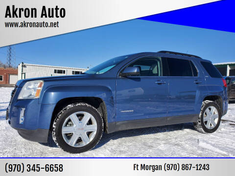 2011 GMC Terrain for sale at Akron Auto in Akron CO