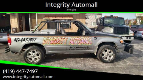 1999 Ford Explorer for sale at Integrity Automall in Tiffin OH