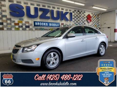 2011 Chevrolet Cruze for sale at BROOKS BIDDLE AUTOMOTIVE in Bothell WA
