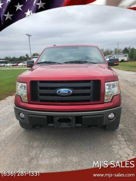 2009 Ford F-150 for sale at MJ'S Sales in O'Fallon MO