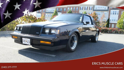 1987 Buick Regal for sale at Erics Muscle Cars in Clarksburg MD