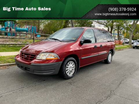 1999 Ford Windstar for sale at Big Time Auto Sales in Vauxhall NJ