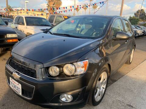 2015 Chevrolet Sonic for sale at North County Auto in Oceanside CA