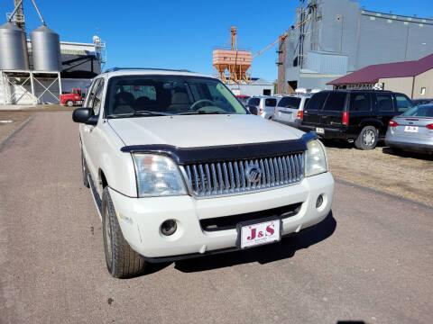 2004 Mercury Mountaineer for sale at J & S Auto Sales in Thompson ND