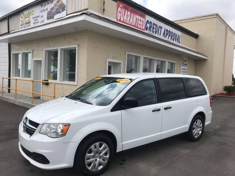 2018 Dodge Grand Caravan for sale at Suarez Auto Sales in Port Huron MI