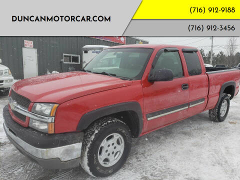 2003 Chevrolet Silverado 1500 for sale at DuncanMotorcar.com in Buffalo NY