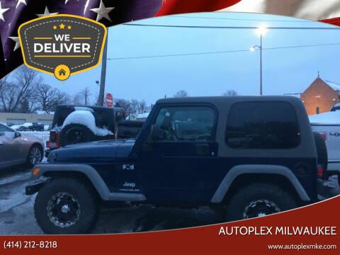 2006 Jeep Wrangler for sale at Autoplex Milwaukee in Milwaukee WI