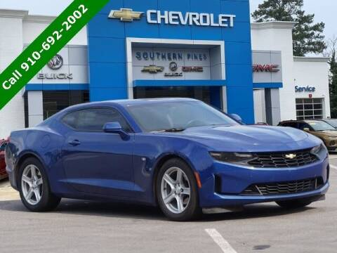 2019 Chevrolet Camaro for sale at PHIL SMITH AUTOMOTIVE GROUP - SOUTHERN PINES GM in Southern Pines NC