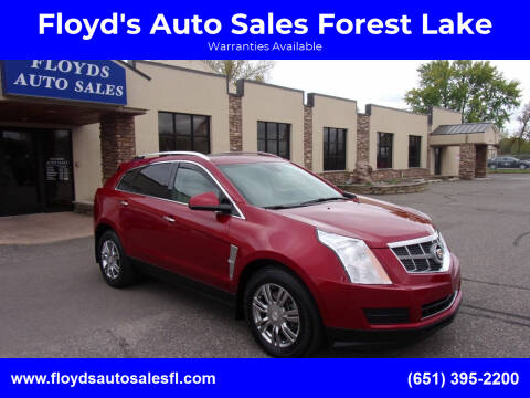 2012 Cadillac SRX for sale at Floyd's Auto Sales Forest Lake in Forest Lake MN