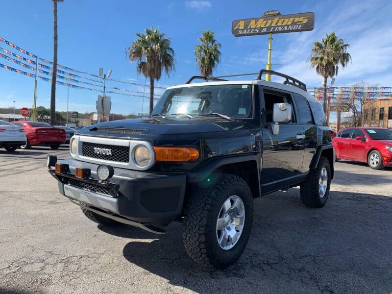 2007 Toyota FJ Cruiser for sale at A MOTORS SALES AND FINANCE in San Antonio TX