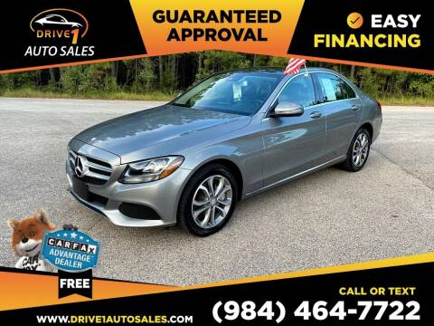 2016 Mercedes-Benz C-Class for sale at Drive 1 Auto Sales in Wake Forest NC