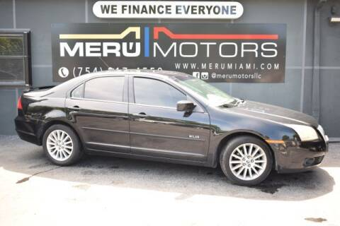 2007 Mercury Milan for sale at Meru Motors in Hollywood FL