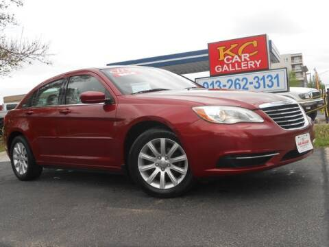 2013 Chrysler 200 for sale at KC Car Gallery in Kansas City KS