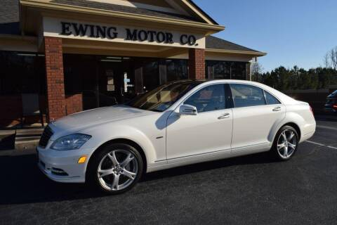 2012 Mercedes-Benz S-Class for sale at Ewing Motor Company in Buford GA