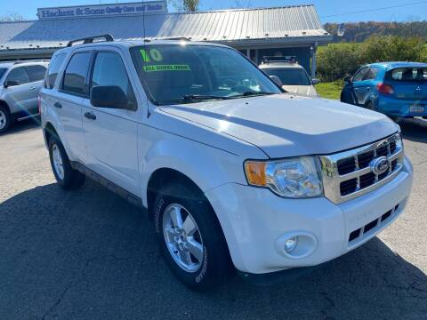 2010 Ford Escape for sale at HACKETT & SONS LLC in Nelson PA
