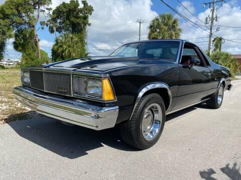 1980 Chevrolet El Camino for sale at American Classics Autotrader LLC in Pompano Beach FL