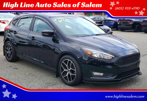 2018 Ford Focus for sale at High Line Auto Sales of Salem in Salem NH