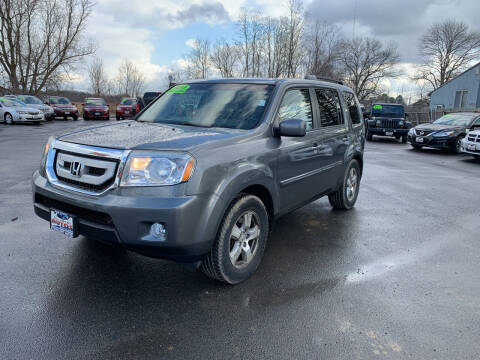 2011 Honda Pilot for sale at Excellent Autos in Amsterdam NY