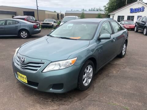 2010 Toyota Camry for sale at Blakes Auto Sales in Rice Lake WI