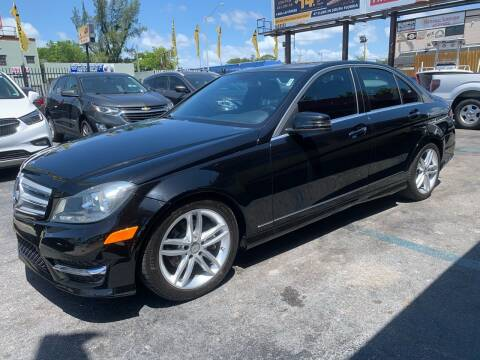 2013 Mercedes-Benz C-Class for sale at AUTO ALLIANCE LLC in Miami FL