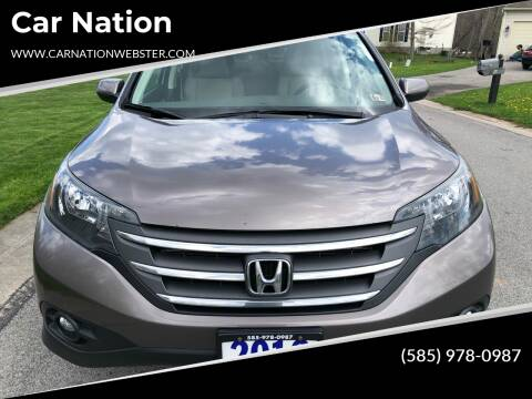 2012 Honda CR-V for sale at Car Nation in Webster NY