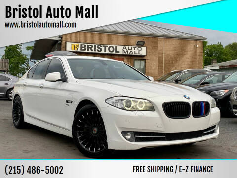 2012 BMW 5 Series for sale at Bristol Auto Mall in Levittown PA