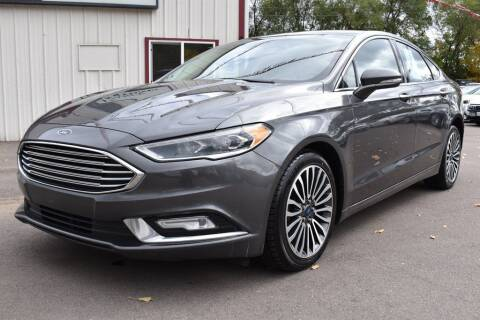 2017 Ford Fusion for sale at Dealswithwheels in Inver Grove Heights MN