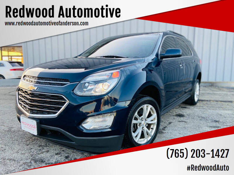 2017 Chevrolet Equinox for sale at Redwood Automotive in Anderson IN