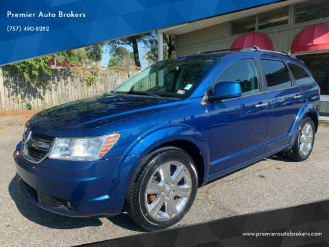2010 Dodge Journey for sale at Premier Auto Brokers in Virginia Beach VA