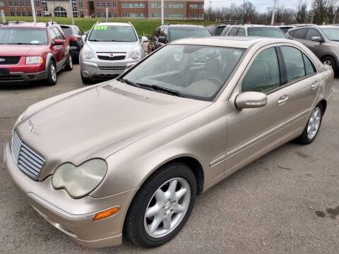 2004 Mercedes-Benz C-Class for sale at AutoLink LLC in Dayton OH