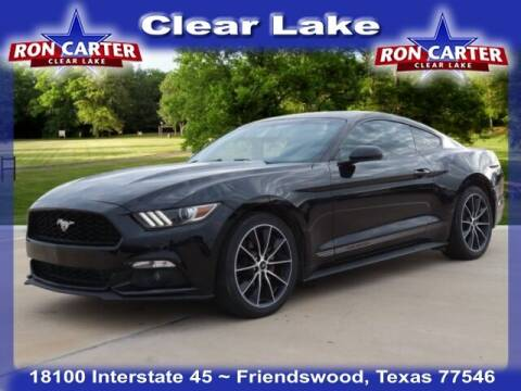 2015 Ford Mustang for sale at Ron Carter  Clear Lake Used Cars in Houston TX