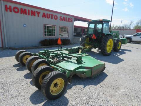 2006 John Deere CX15 for sale at HOMINY AUTO SALES in Hominy OK