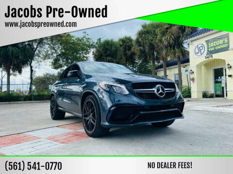 2016 Mercedes-Benz GLE for sale at Jacobs Pre-Owned in Lake Worth FL