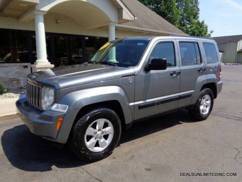 2012 Jeep Liberty for sale at DEALS UNLIMITED INC in Portage MI