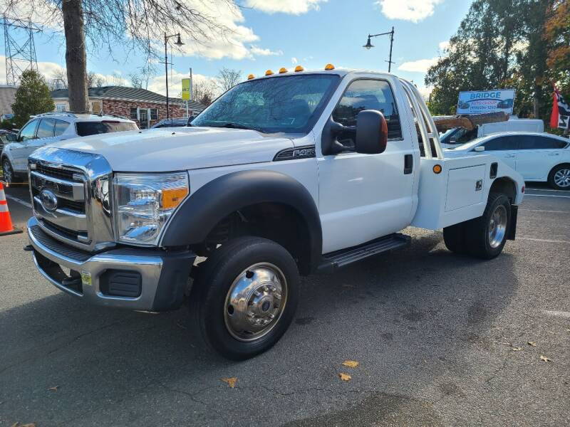 2016 Ford F-450 Super Duty for sale at Bridge Auto Group Corp in Salem MA