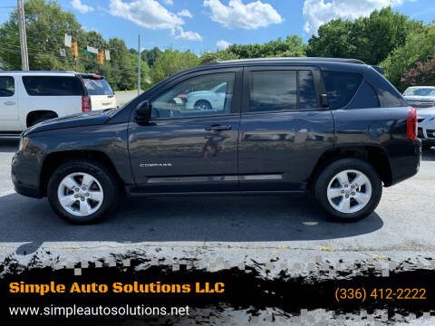 2014 Jeep Compass for sale at Simple Auto Solutions LLC in Greensboro NC