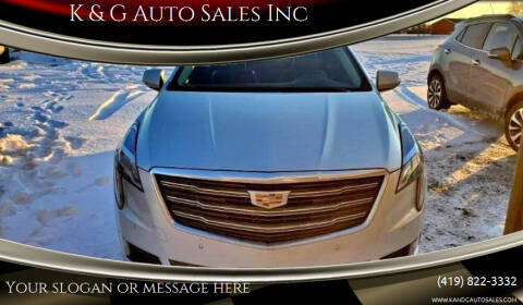 2019 Cadillac XTS for sale at K & G Auto Sales Inc in Delta OH