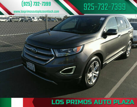 2016 Ford Edge for sale at Los Primos Auto Plaza in Antioch CA