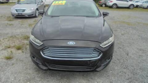 2013 Ford Fusion for sale at Auto Mart - Moncks Corner in Moncks Corner SC