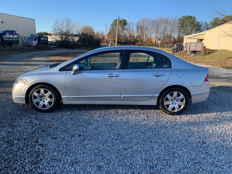 2009 Honda Civic for sale at MEEK MOTORS in North Chesterfield VA