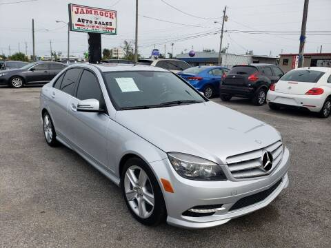 2011 Mercedes-Benz C-Class for sale at Jamrock Auto Sales of Panama City in Panama City FL
