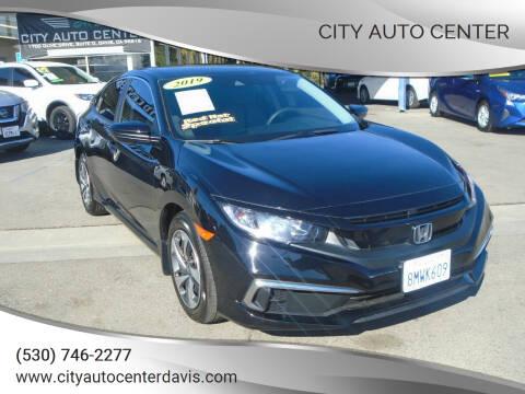 2019 Honda Civic for sale at City Auto Center in Davis CA