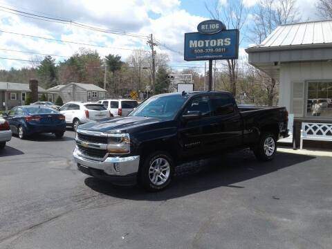 2017 Chevrolet Silverado 1500 for sale at Route 106 Motors in East Bridgewater MA