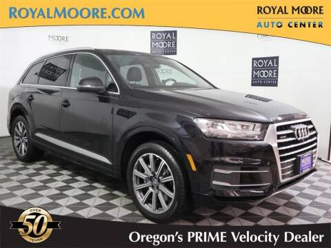 2017 Audi Q7 for sale at Royal Moore Custom Finance in Hillsboro OR