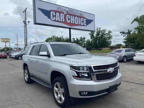 2015 Chevrolet Tahoe for sale at Ray Hibdon's Car Choice in Oklahoma City OK