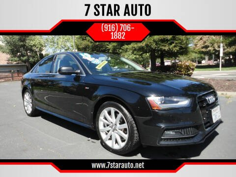 2014 Audi A4 for sale at 7 STAR AUTO in Sacramento CA