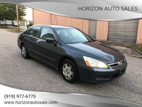 2006 Honda Accord for sale at Horizon Auto Sales in Raleigh NC